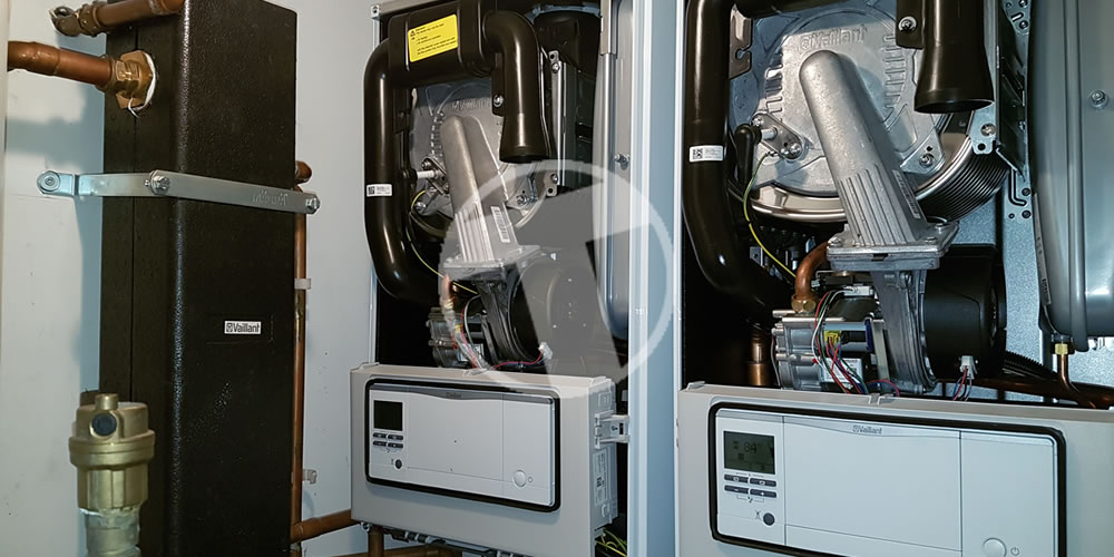 Twin Boiler Installation